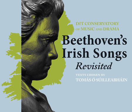 CD cover of Beethoven's Irish Songs Revisted
