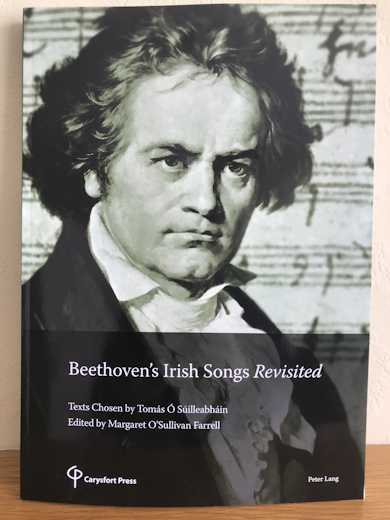 Cover of Beethoven's Irish Songs Revisted
